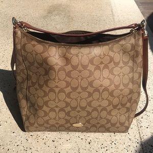 Large Coach Brand purse